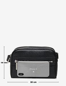 Patricia belt bag - vyölaukut - black