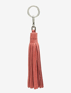 Tassel with key-ring - SUEDE BLOSSOM