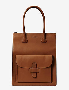 Working Bag One Pocket - fashion shoppers - cognac
