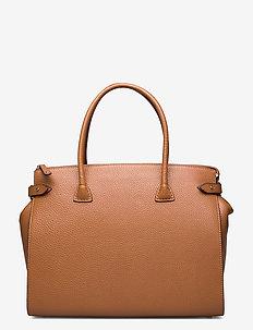 Meryl Big shopper - handväskor - cognac