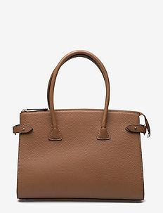 Small shopper - handväskor - cognac