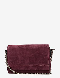 Evelyn cross-body - SUEDE OXBLOOD