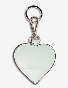 Heart keyring - key rings - mint green