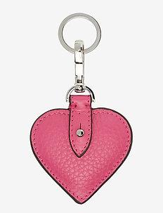 Heart keyring - PINK