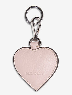Heart keyring - key rings - rose