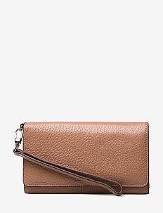Alberta folding wallet - LATTE