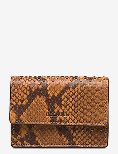 Darcy tiny wallet - portfele - snake golden yellow