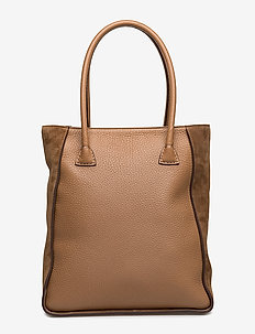 Caroline big handbag - LATTE