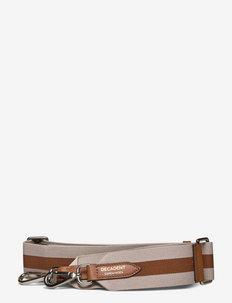 Two tone canvas strap - axelremmar - cognac