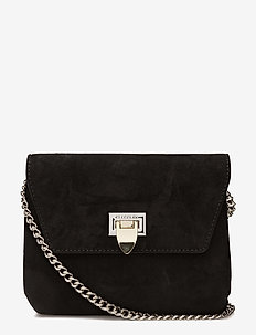 Cleva small pouch - torby na ramię - suede black