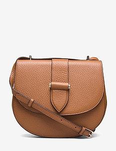 Kim satchel bag - COGNAC