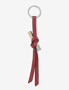 Olivia key ring - SCARLET RED