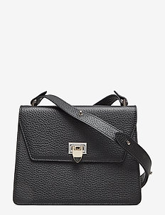 Nadia cross-over - shoulder bags - black