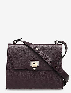 Nadia cross-over - shoulder bags - plum