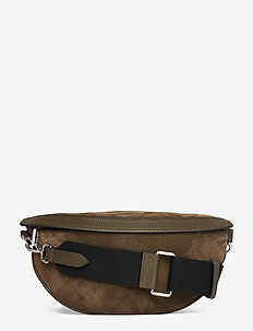 Trina small bum bag - SUEDE ARMY