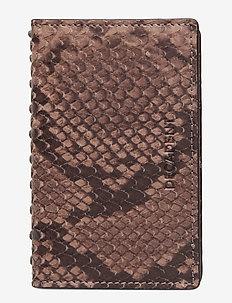 Kelly card holder - wallets - snake nougat