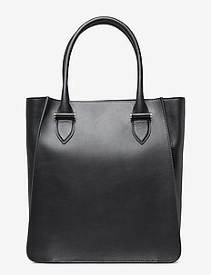 Phoebe big tote - VEGETAL BLACK