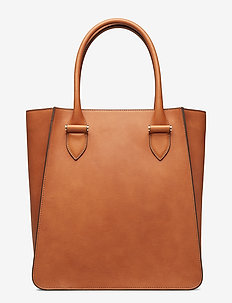 Phoebe big tote - shoppers - vegetal cognac