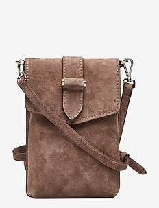Gina mobile cross-over - SUEDE NOUGAT