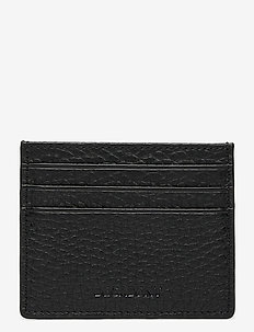 Two side card holder - kortholdere - black