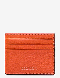 Two side card holder - card holders - tomato