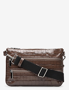 Belt bag - schultertaschen - croco mocha