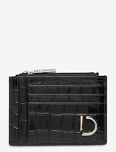 Ellie card holder - card holders - croco black