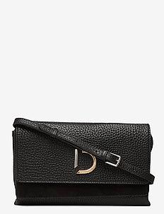 Kristin flap bag - skuldertasker - black