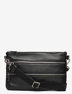 Jane big belt bag - schoudertassen - black