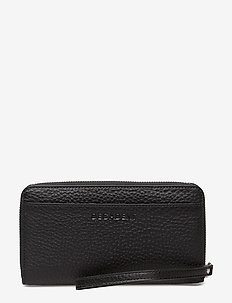 Zip wallet - lompakot - black