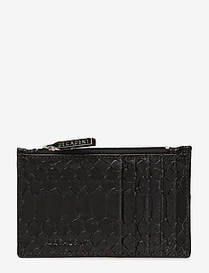Zoe big card holder - ANACONDA BLACK