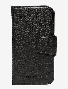 Lea iPhone X/Xs flip cover - handy accessoires - black