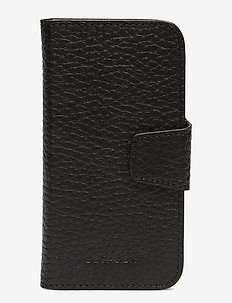 Brenda iphone 7/8 flip cover - BLACK