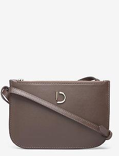Marcia small double bag - sacs à bandoulière - nappa mocha