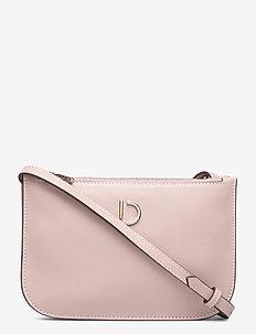 Marcia small double bag - skuldervesker - nappa rose