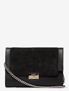 Margaret shoulder bag - skuldertasker - suede black
