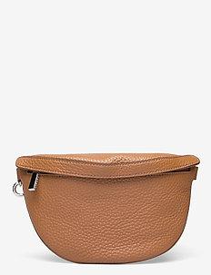 Lina mini bum bag - magväskor - cognac