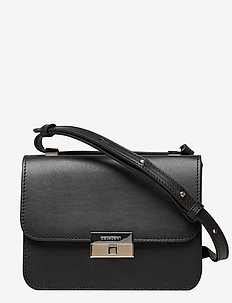 Rhea small cross-body bag - shoulder bags - vegetal black