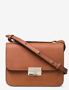 Rhea small cross-body bag - shoulder bags - vegetal cognac