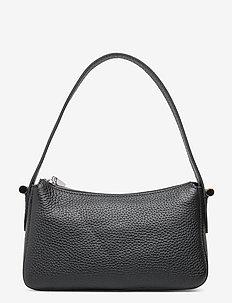 Janine baguette bag - handbags - black
