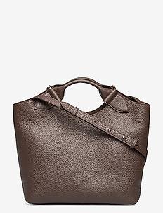 Teddy tote - handväskor - mocha