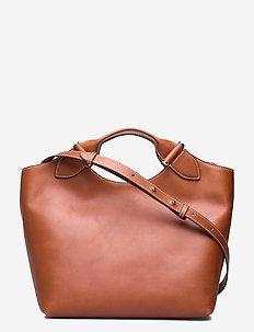 Teddy tote - handväskor - vegetal cognac