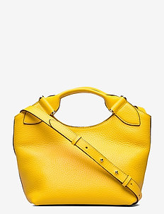 Minna small tote - handtassen - vibrant yellow
