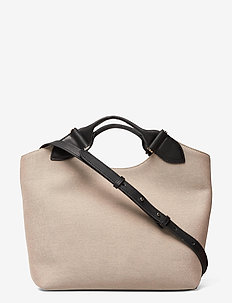 Tega canvas tote - handtassen - black