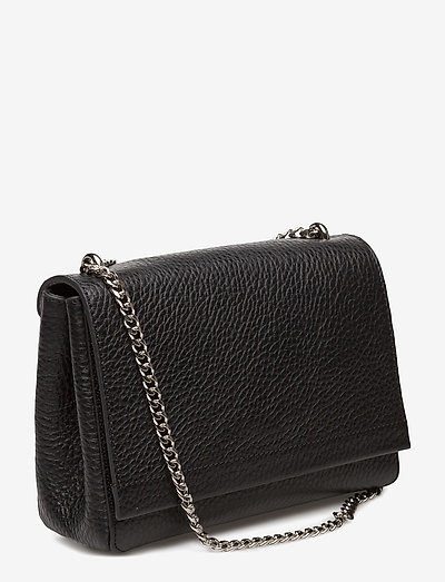 Decadent Small Clutch With Double Chain- Olkalaukut Black