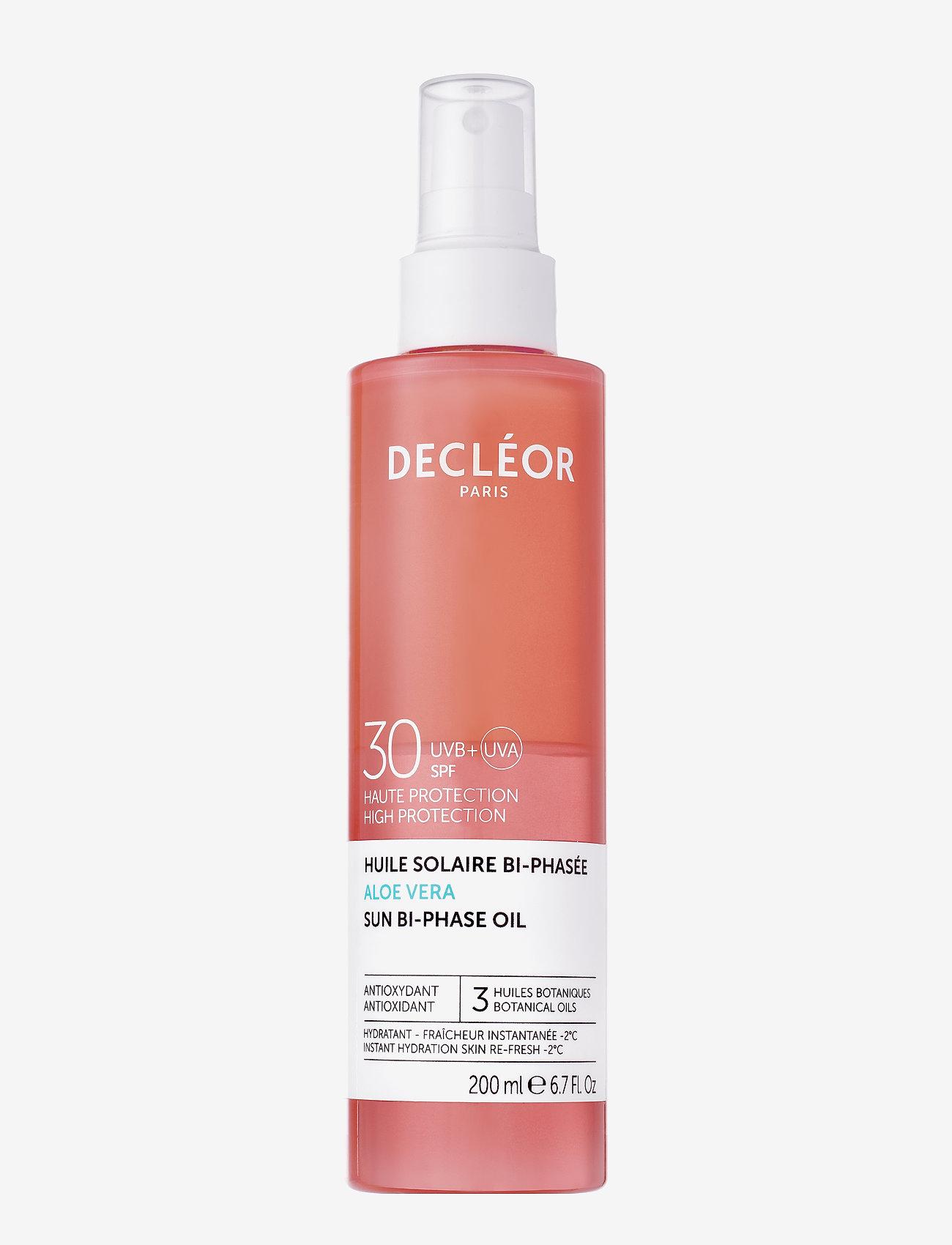 Decléor - ALOE VERA SUN BI-PHASE OIL SPF30 - kropspleie - clear - 0