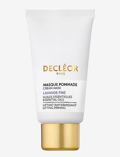 Lavande Fine Cream Mask - ansiktsmasker - clear