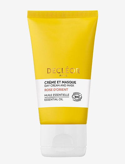 Rose D'Orient Day Cream and Mask - ansiktsmasker - clear