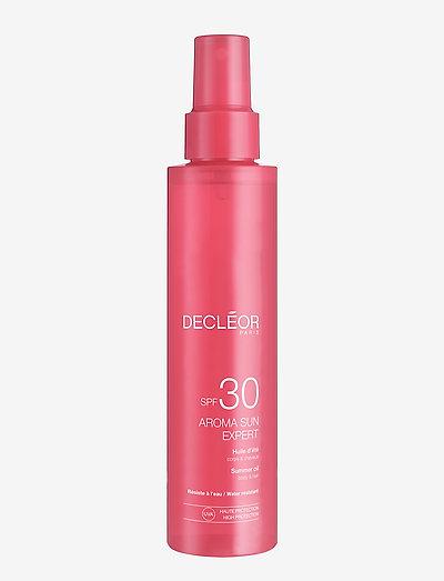 Decléor Aroma Sun Expert Sun Oil SPF 30 - kropspleje - clear