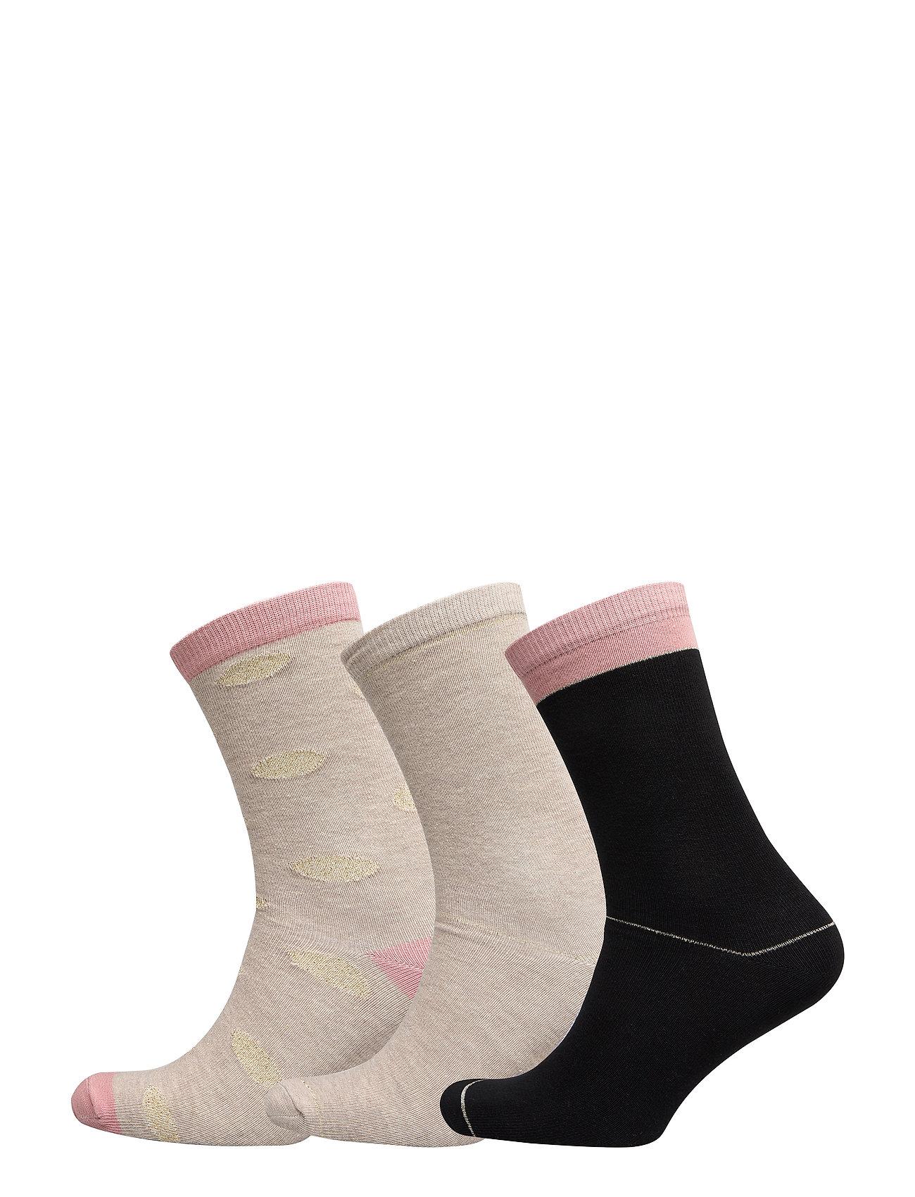 Decoy DECOY ankle sock cotton 3-pack - MULTICOLOU